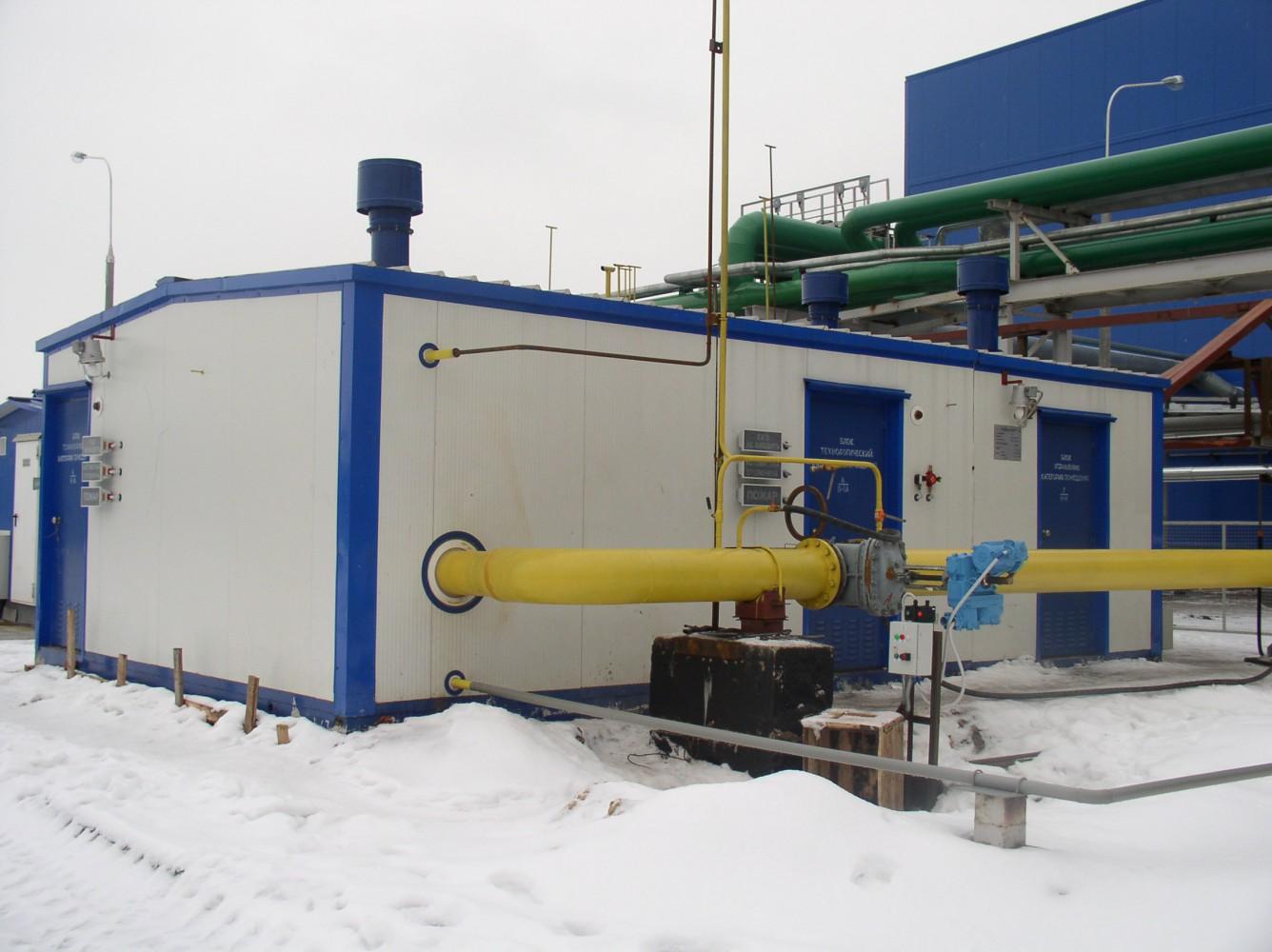 Пункты подготовки газа